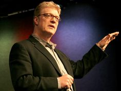 "Ken Robinson says schools kill creativity.....  ""A teacher doesn't teach to mold students in the teachers image, a teacher teaches so students can create their own image.""     ""A teacher helps students to open doors and then provides encouragement and direction for the student to take the steps to walk through those doors themself."""