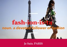 Je Suis. PARIS' most popular FASHIONISTA tour immerses you in the fashion, culture, cuisine and history of Paris!   Go farther into Paris with us ... Our 2014 tours are ON SALE NOW (and you can get up to a $400 vacation credit on any 2014 departure)! Call us today (888) 746-0836 or visit jesuisparis.com