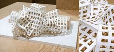 "The Lou Ruvo center project at ""I have an idea"" exhibition of Frank O. Gehry models at 21_21 Design Site on Tokyo"
