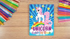 Unicorn Coloring Book: For Kids Ages 4-8 A sweet coloring book full of merry and funny unicorns. Fun adventures of unicorns that meet various animals, fly balloons, dance at the disco, meet fairies and jump on a rainbow. Learning Colors, Kids Learning, Coloring Pages For Kids, Coloring Books, Unicorn Coloring Pages, Amazing Adventures, Balloons, Castle, Merry