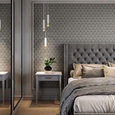Awesome Luxury Bedroom Design Ideas You Must Have - A number of interior designers have had successes from previous designs that capture the plain white room into something that can distract an owner de. Modern Luxury Bedroom, Luxury Bedroom Design, Home Room Design, Master Bedroom Design, Contemporary Bedroom, Luxurious Bedrooms, Interior Design, Bedroom Designs, Bedroom Romantic