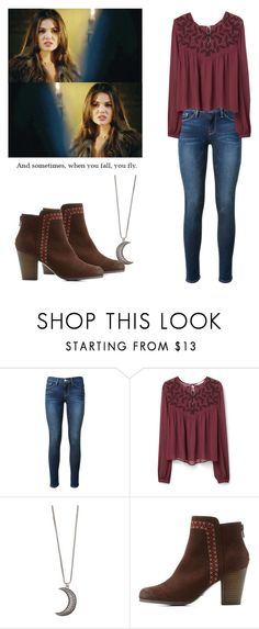 """Davina Claire - the originals"" by shadyannon ❤ liked on Polyvore featuring Frame Denim, MANGO, Gypsy Warrior and Qupid"