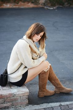 db22fae4649 Must have these over-the-knee UGG boots for fall! Love how they're ...
