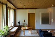 Maison Louis Carré by Alvar Aalto at KITKA design toronto Alvar Aalto, Interior Architecture, Interior Design, Interior And Exterior, Interior Doors, Internal Wooden Doors, Beautiful Interiors, Home And Living, Interior Inspiration