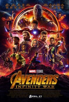 The Avengers are Back! Marvel Studios has reached the pinnacle with Avengers: Infinity War. Ten years, eighteen films. All heroes come together to fight off Thanos. He wants to destroy the world, y'all. No biggie.