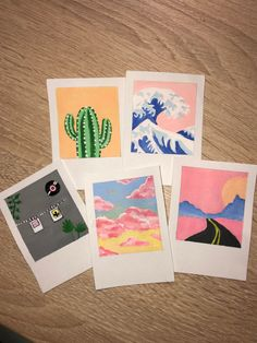 Simple Canvas Paintings, Easy Canvas Art, Small Canvas Art, Cute Paintings, Mini Canvas Art, Diy Canvas, Aesthetic Painting, Aesthetic Art, Hippie Painting