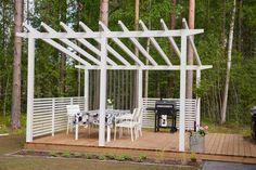 Pergola Patio, Gazebo, Backyard, Pool Landscaping, Log Homes, Garden Planning, Terrace, Building A House, Cottage