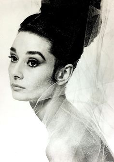 An advertisement for Givenchy's fragrance L'Interdit. A fragrance he had created especially for Audrey Hepburn, which in turn became the first celebrity fragrance ever. Photograph by Bert Stern, Parfum Givenchy, Audrey Hepburn Givenchy, Style Audrey Hepburn, Divas, Eyebrows Goals, Muse, Guy Bourdin, Beautiful Inside And Out, Breakfast At Tiffany's