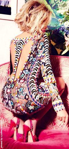 Colorful Miami   Emilio Pucci   cynthia reccord