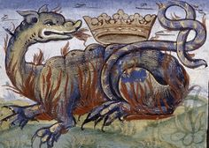 Salamander   New York, New York Public Library, Spencer Collection NYPL Spencer 081, f. 7v