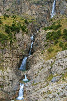 Cascada del Cinca, Valle de Pineta. PN Ordesa y Monte Perdido