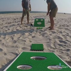 Home Decor - This popular game combines cornhole and chip shots to make for a fun new golf-centric backyard game. Golfing buddies (or solo players) ca Backyard Party Games, Diy Yard Games, Outdoor Party Games, Lawn Games, Diy Games, Outdoor Fun, Outdoor Activities, Summer Activities, Family Activities
