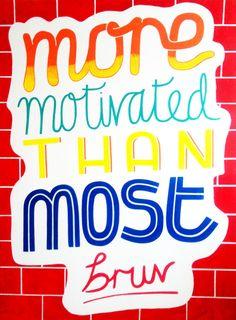 Motivated - by Oli Frape