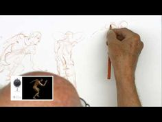 Timed Model Drawing Session 2 // Instructor: Glenn Vilppu - YouTube Life Drawing, Figure Drawing, Art Tutor, Beautiful Lines, Drawing Poses, Art Tips, Sketches, Picasso, Drawings