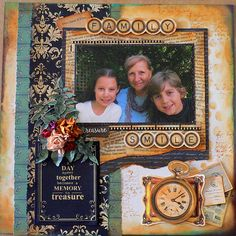 """Hi everyone, just a very quick post sharing some projects created with Kaisercraft """"Story Book"""" paper collections. Scrapbook Journal, Scrapbook Pages, Scrapbooking Ideas, Scrapbook Layouts, Smash Book Pages, Free Magazines, Scrapbook Templates, Vintage Scrapbook, How Big Is Baby"""