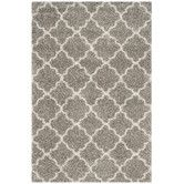 Found it at Wayfair - Hudson Shag Gray / Ivory Area Rug