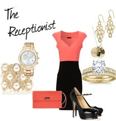 """""""The Receptionist"""" by fashionista-222-jlm on Polyvore"""
