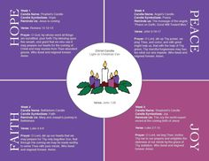 Image result for meaning of the catholic advent wreath