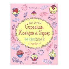 Teken je graag en ben je gek op alles wat zoet is? Dan is dit superleuke tekenboek helemaal wat je zoekt. Van cupcakes versieren tot een bruidstaart ontwerpen, gebruik je fantasie en laat zien dat er in jou een echte gebak- en snoepfan schuilt!