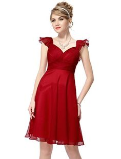 I have a decision to make, and I would like your opinion. Which dress is better: The black and white one I recently pinned, or this red one? Thanks!