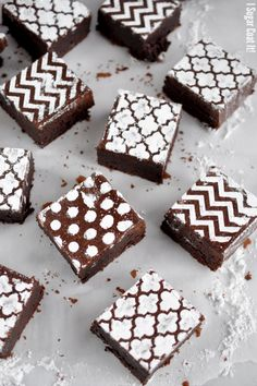 PMS Brownies and a chance to win a copy of Connie Weis' Book - Extreme Brownies!