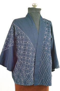 sashiko coat pattern