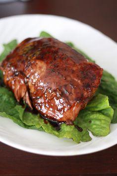 Brown Sugar & Balsamic Glazed Pork Roast