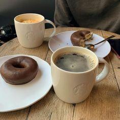 Cute Food, Good Food, Yummy Food, Food Porn, Aesthetic Food, Coffee Break, Coffee Coffee, Coffee Time, Cravings