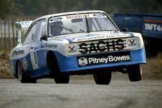 Martin Schanche in his Ford Escort. These things excelerated faster than an car. Escort Mk1, Ford Escort, Sport Cars, Race Cars, Happy Birthday Martin, Ford Motorsport, Rally Car, Car And Driver, Peugeot