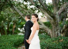 Photography: Justin DeMutiis Photography - http://www.stylemepretty.com/portfolio/justin-demutiis-photography   Read More on SMP: http://www.stylemepretty.com/2015/07/30/traditional-tampa-garden-inspired-wedding/