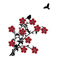 Vinilos Decorativos Flores a Color