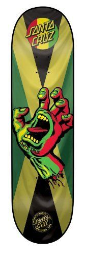 Santa Cruz Skate Deck Rasta Hand Jammin Powerply 31.7-Inch x 7.8-Inch by Santa Cruz. $58.00 Skateboard Design, Skateboard Decks, Santa Cruz Surf, Creature Skateboards, Skate Street, Skate Decks, Tony Hawk, Bmx, Snowboard