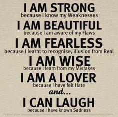 I am - inspirerende tekst