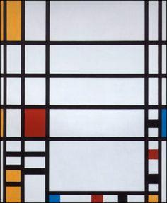 Mondrian- love his minimalist, abstract art