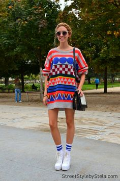On the streets of Paris_Street Style by Stela