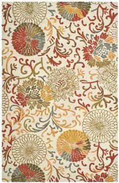 Kitchen Rug JAR956A - Safavieh Rugs - Jardin Rugs - Wool Rugs - Area Rugs - Runner Rugs
