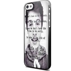 Shawn Mendes Magcon Boys Quotes for Iphone and Samsung (iPhone 5/5s Black)