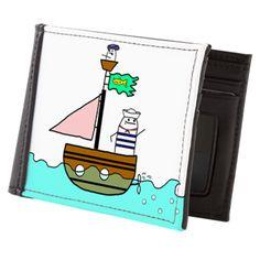Jacque le Grand et Petits Filous Mens Wallet> Home & Travel> Big Phil Kawaii Illustration, Cartoon, Wallet, Big, Travel, Viajes, Cartoons, Handmade Purses, Comic