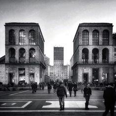 Milano, piazza Diaz