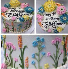 White Flower Cake Shoppe Signature Buttercream Flowers