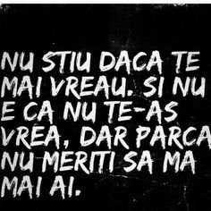 Chiar nu meriti... Inspiring Quotes About Life, Inspirational Quotes, Just Me, Favorite Quotes, Life Quotes, Spirituality, Facts, Messages, Thoughts