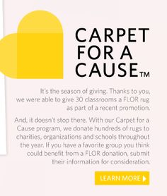 Carpet for a Cause!