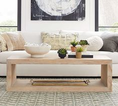 Fascinating Modern Coffee Tables Design Ideas - Looking for the perfect modern coffee tables for your living spaces is not the easiest thing to do. There are many aspects of the table and the room y. Coffee Table Pottery Barn, Reclaimed Wood Coffee Table, Diy Coffee Table, Decorating Coffee Tables, Diy Table, Coffee Coffee, Coffee Cake, Coffee Break, Coffee Enema