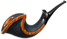 Kent Rasmussen Partially Rusticated Freehand Horn