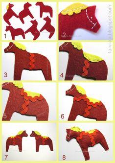 мастер-класс как шить лошадку