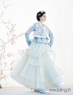 [한복] 진주상단, 봄을 기다리는 설렘 < 웨딩뉴스 < 월간웨딩21 웨프