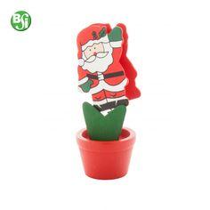 Memo clip in legno con figura di Babbo Natale.  gadget   gadgetpersonalizzati  clip  gift  memoclip  bsigadget  natale  christmas b4c9df4ec5d4