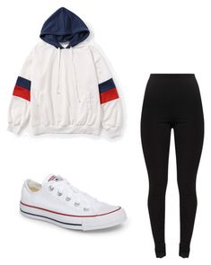 """""""Untitled #12"""" by anyahmccrimmon on Polyvore featuring Converse"""