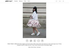 TREND FROM #PARIS FASHION WEEK - How to wear a short #peterlangner dress with #sneakers? Follow the #classy example of the Fashion Blogger Purses&I by Laura Comolli! http://www.gettyimages.com.au/detail/news-photo/fashion-blogger-laura-comolli-wears-a-peter-langner-dress-news-photo/466477930