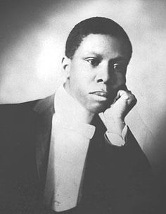 Paul Laurence Dunbar, first African American poet to garner national critical acclaim.